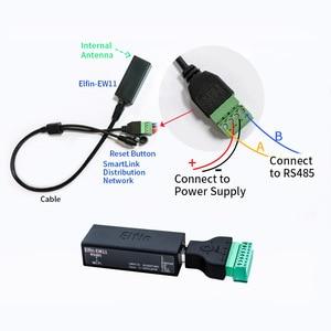 Image 5 - Elfin EW11 Elfin EW11 0 RS485 to WiFi Module Smart Home Serial Server Modbus TCP Homekit RJ45 TCP Protocol