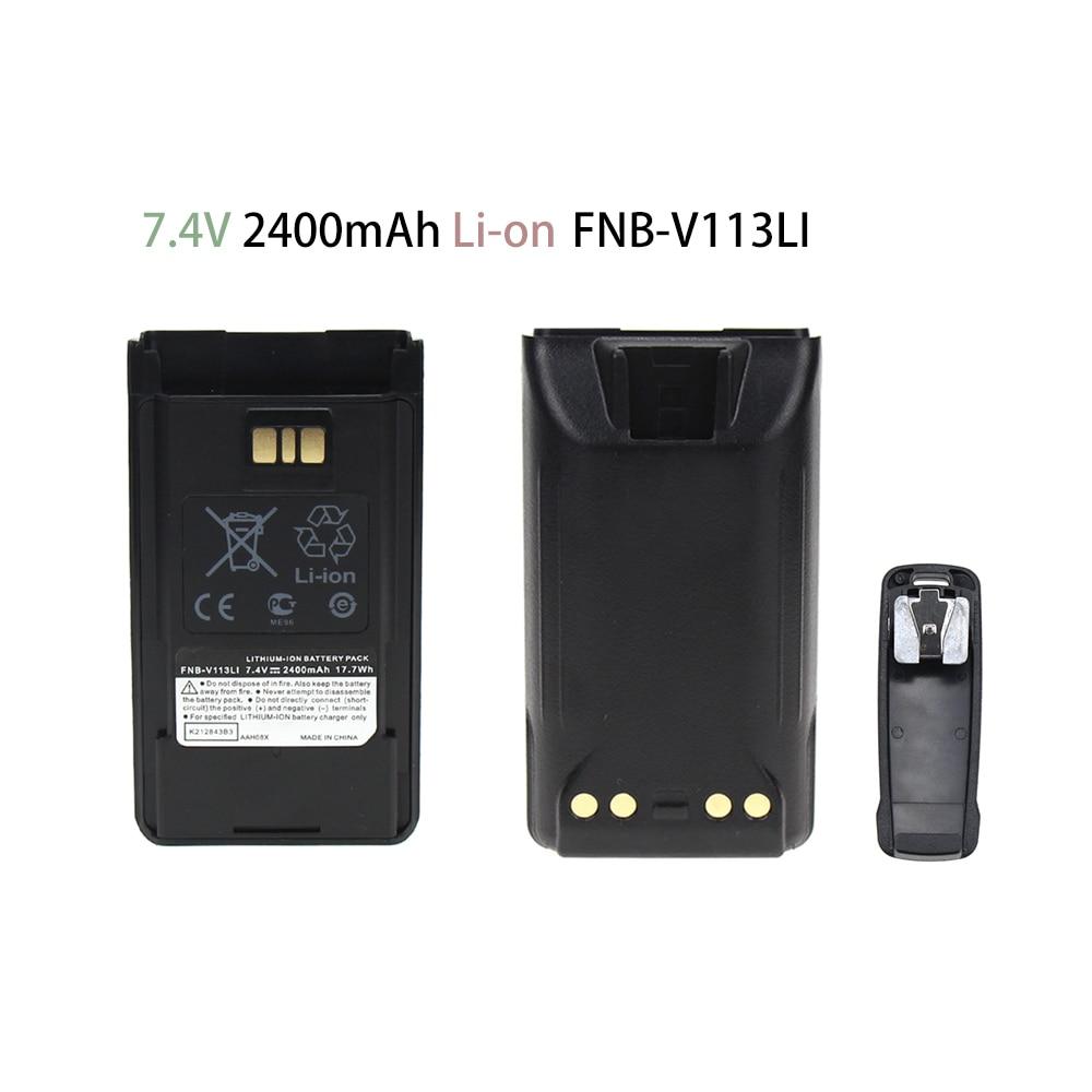 FNB-V112 FNB-V113 Battery For Vertex Standard VX-450 VX-451 VX-454 Two Way Radio