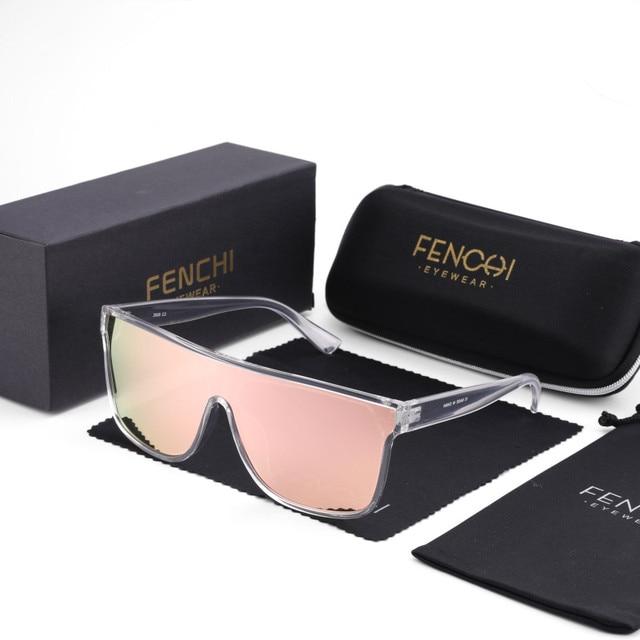FENCHI NEUE Sonnenbrille Frauen Männer Schwarz Driving Windschutz Übergroßen Weiblichen Sonnenbrille Brille Zonnebril Dames Oculos Feminino