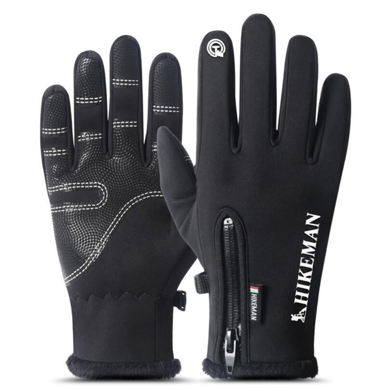 INDJXND Winter Mittens Touched Screen Gloves Waterproof Men Women Warm Windproof Bicycle Anti Slip Mittens Ski Cycling Gloves