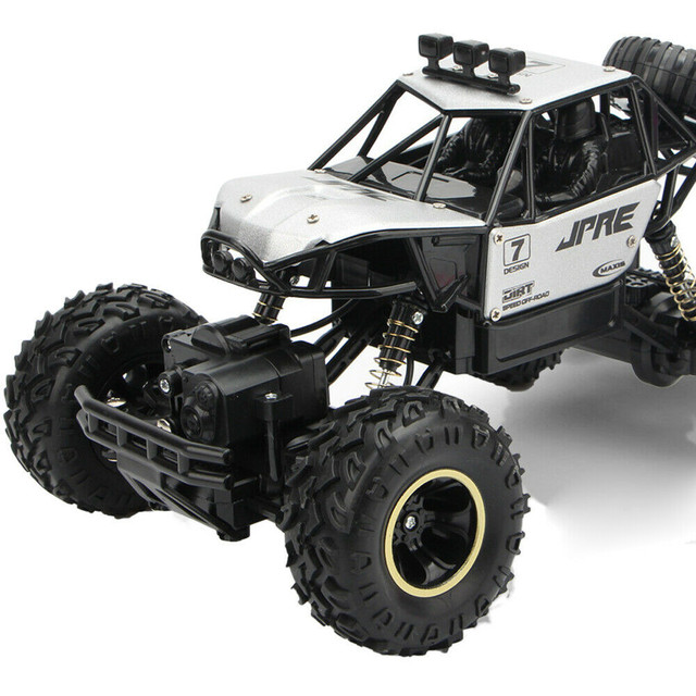 1:16 4WD RC Car Update Version 2.4GHz Dirt Bike Remote Control Car Toys High Speed Truck Off-Road Truck Children's Toys Gifts#g4 5