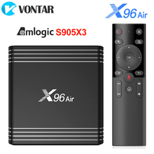 X96 Air Android 9.0 TV Box Amlogic S905X3 4GB 64GB 32GB 2.4G&5G Dual Wifi BT4.1 H.265 4K 8K 24fps 2GB 16GB Set Top Box X96Air