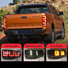 자동차 테일 라이트 포드 레인저 2.2 레인저 3.2 2015 2016 2017 2018 미등 LED DRL 러닝 라이트 안개 조명 천사 눈 후면