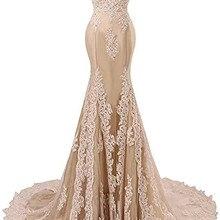 Angelsbridep Off-Schouder Mermaid Prom Dresses Fashion Applique Crystal Hof Trein Vestidos De Festa Abendkleider Partij Jassen