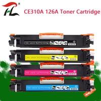 CE310 CE310A 313A 126A 126 Cartucho de Toner de Cor Compatível Para HP LaserJet Pro CP1025 M175a M275 100 Cor MFP m175nw Impressora|Cartuchos de toner| |  -