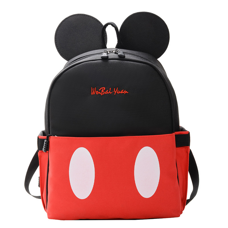 2020 New Mickey Backpack Women Shoulder Bag Nylon Ladies Travel Backpack For Teenager Boy Girl School Bag Mochila Feminina