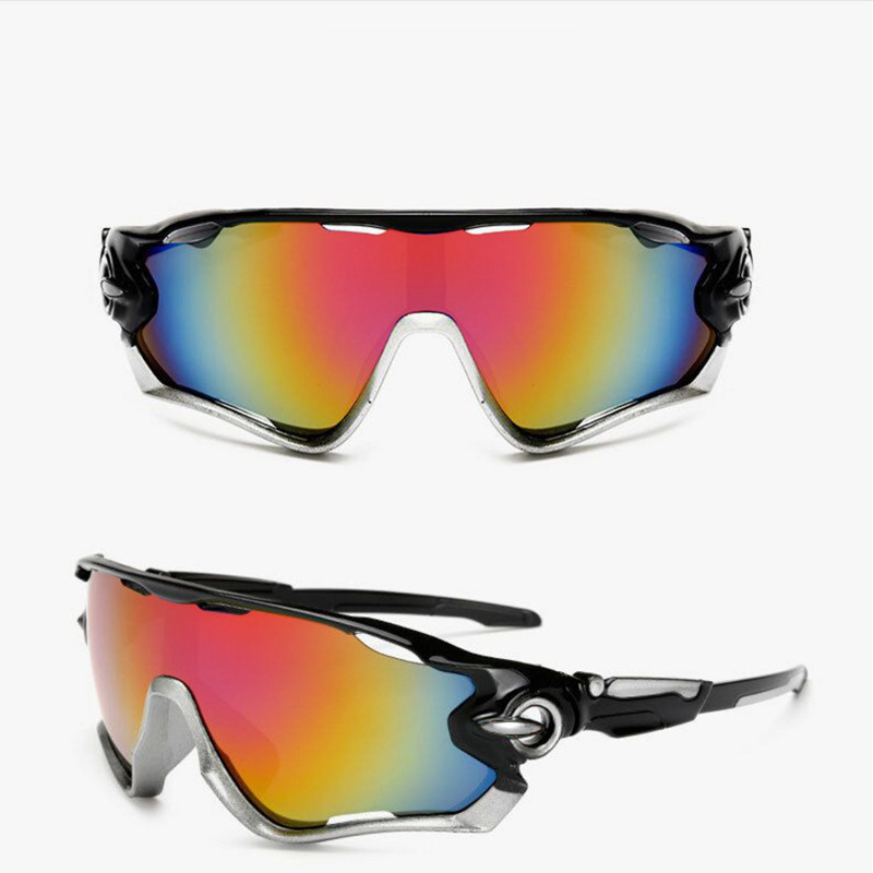 New Cycling Eyewear Bicycle MTB Mountain Bike Motorcycle Riding Goggles Glasses Outdoor Sports Running Cycling Sunglasses