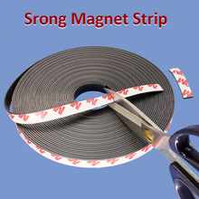 Magnet-Strip Rubber Self-Adhesive Strong Flexible Lenght