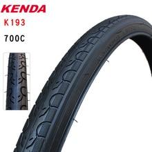 Велосипедная шина Kenda K193 700C 700*25 28 32 35 38 40C, велосипедная шина для путешествий, шина для горного велосипеда с небольшим рисунком