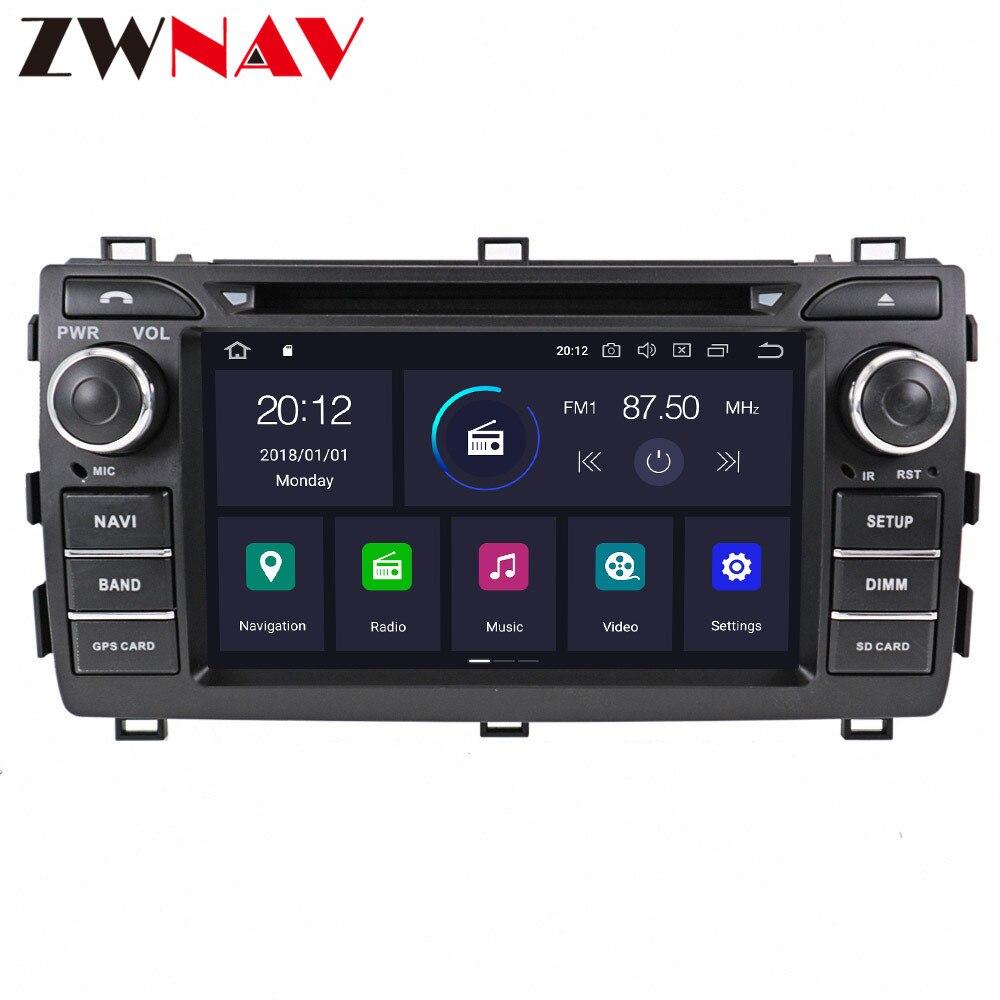 PX6 IPS 4 + 64 Android 9,0 Автомобильный DVD стерео мультимедиа головное устройство для Toyota Auris 2013-2015 Авто ПК радио GPS навигация Видео Аудио