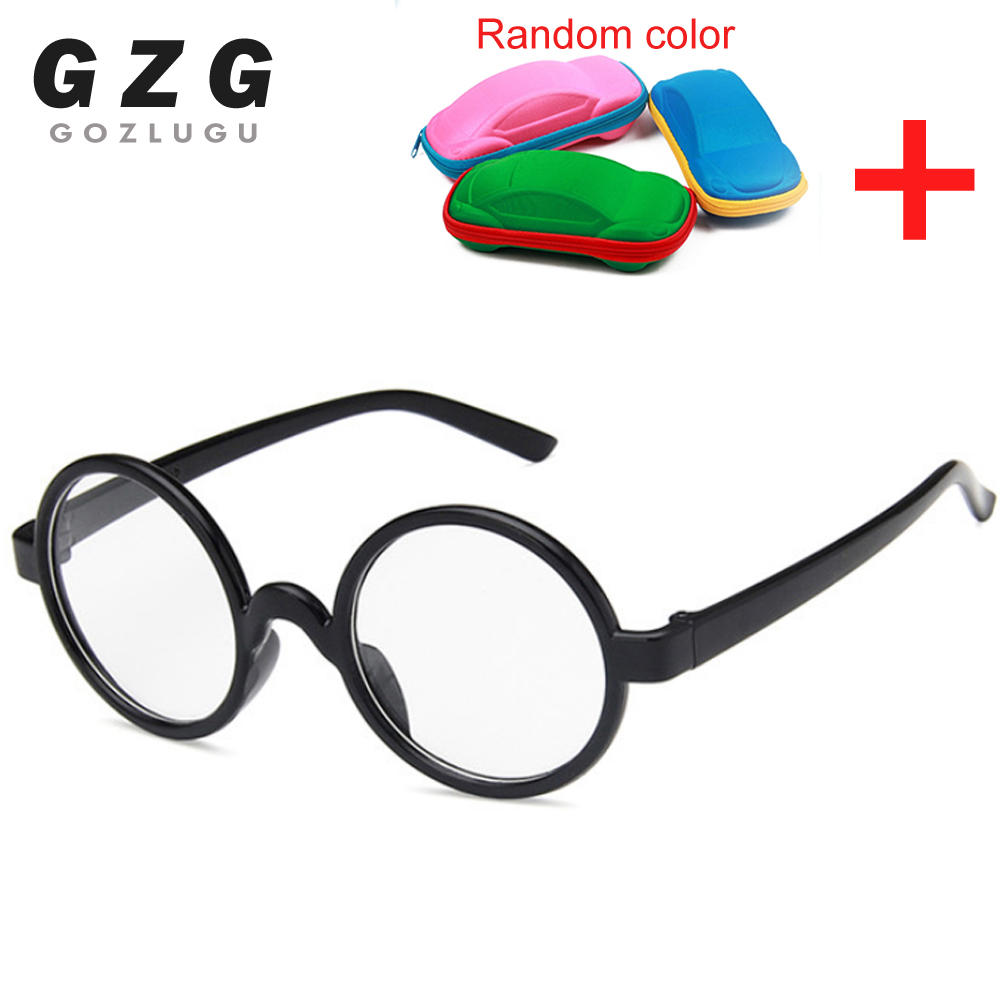 Cute Baby Round Glasses Frame Kids Solid Harry -Potter Spectacle Frames Myopic Lens Frame Boy&Girls Children Eyeglasses