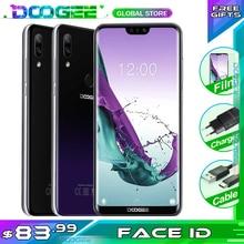 DOOGEE N10 Del Telefono mobile 3GB di RAM 32GB di ROM 5.84 pollici FHD + 19:9 Display 16.0MP Fotocamera 3360mAh 4GLTE Smartphone