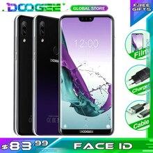 DOOGEE N10 handy 3GB RAM 32GB ROM 5,84 zoll FHD + 19:9 Display 16,0 MP Kamera 3360mAh 4GLTE Smartphone