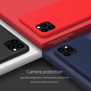 Image 3 - Nillkin Cover Voor Iphone 11 Pro Max Case Rubber Verpakt Tpu Telefoon Beschermhoes Cover Voor Iphone 11 Pro voor IPhone11 Case