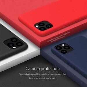 Image 3 - Nillkin capa para iphone 11 pro max caso de borracha envolvido tpu caso protetor do telefone capa traseira para iphone 11 pro para iphone11 caso