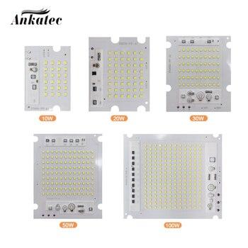 diy ic 10W 20W 30W 50W 100W LED lamp chip SMD2835 Pearl Smart IC AC220V DIY outdoor floodlight spotlight cool white DIY