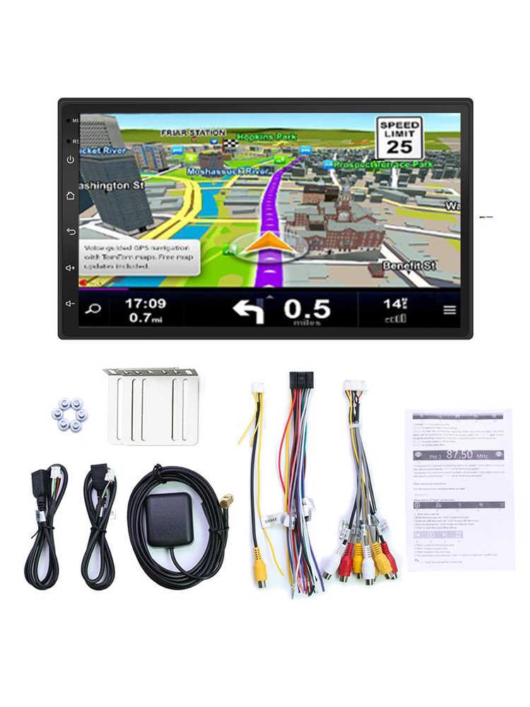 "Auto Radio 2 Din Android 8,1 GPS Navigation Auto Radio Auto Stereo 7 ""Wifi Bluetooth USB Audio 2DIN Universal multimedia Auto-Player"