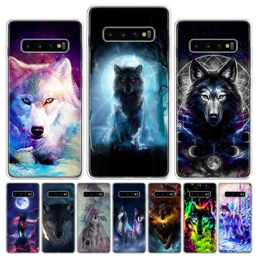 Coque de téléphone classique Cool, Hipster, loup, pour Samsung Galaxy S6 S7 S8 S9 S10 S10E S20Ultra Plus Lite J4 J6 j8 Plus Note 8 9 10 Plus Co