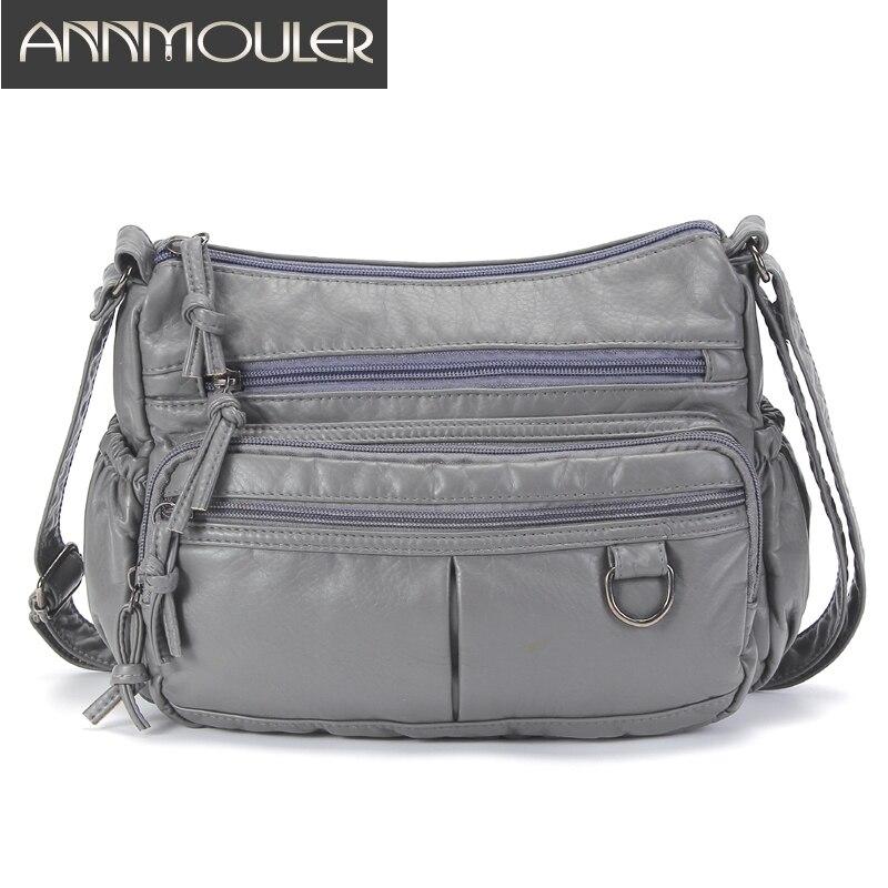 Women Shoulder Bag Fashion Soft Leather Crossbody Bag Pu Bag Purse Small Ladies Pockets Messenger Bag Handbag Bolsa Feminina