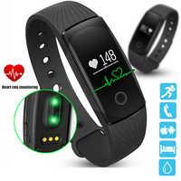 ID107 Herz Rate Smart Armband Uhr Herz Rate Monitor Pedometer Smart-Band Wireless Fitness Tracker Armband