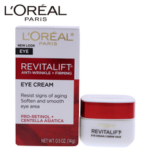 LOreal paris Revitalift Anti-Wrinkle and Firming Eye Treatment for Unisex - 0.5 oz Cream