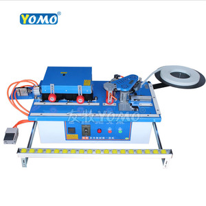 Image 1 - New upgraded MY70 wood edge banding machine with edge trimmer trimming cutting woodworking edge bander 45kg