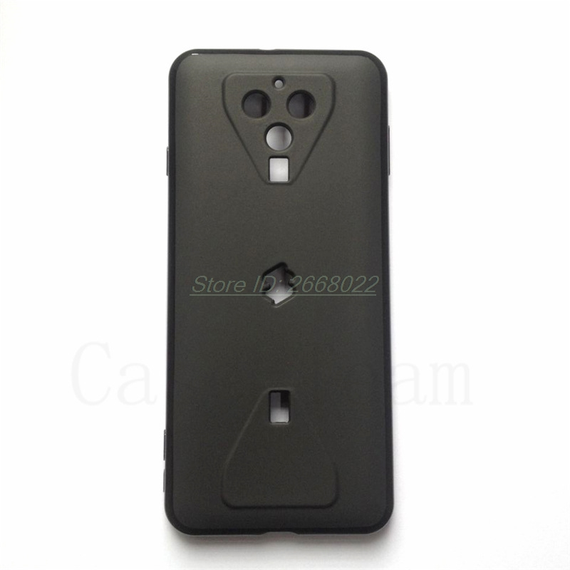 Matte Silicon Case For Xiaomi Xiomi BlackShark 3 Black Shark 3 Soft Gel Pudding TPU Coque Protective Back Cover For Black Shark3