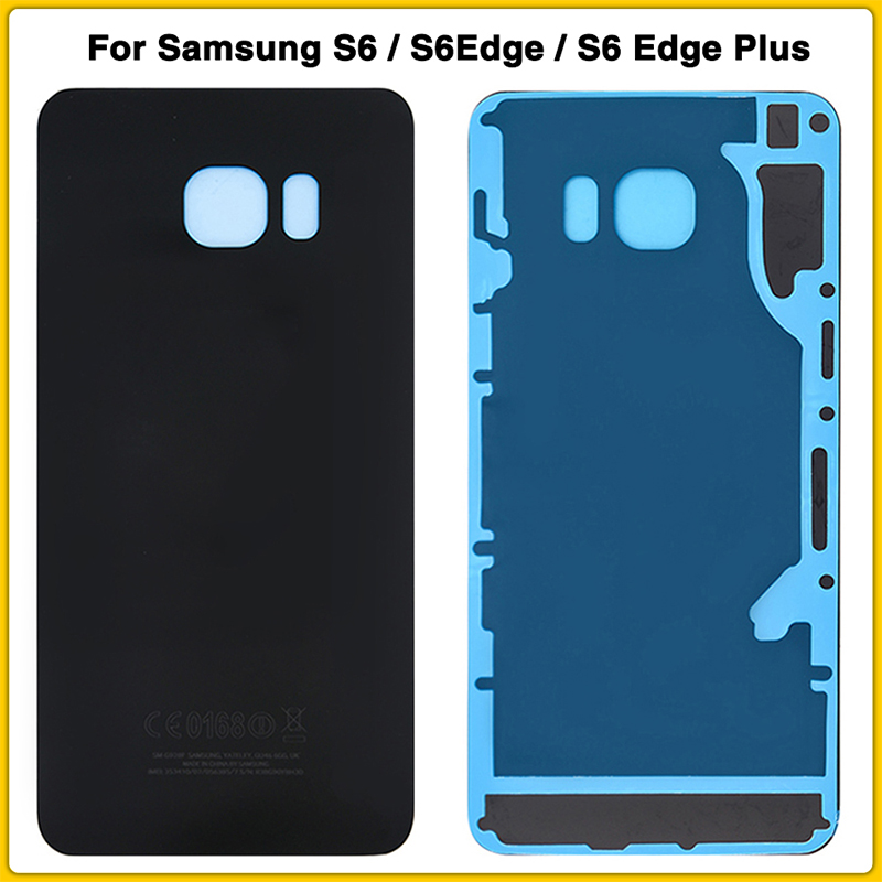 10pcs Original S6 Battery Cover For Samsung Galaxy S6Edge S6 Edge Plus G920 G920F G925 G928 Battery Back Cover Door Rear Cover image