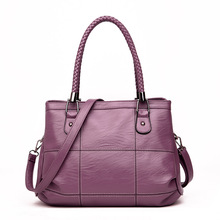 2020 New European And American Fashion Shoulder Bags Women's Handbag Middle-aged Mother Bag Messenger Bag new casual fashion loading and unloading handle women leather handbags atmosphere wild shoulder slung middle aged mother bag