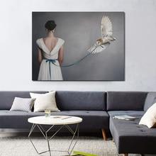 Vintage Posters en Prints Figure Vrouwen Canvas Schilderij Meisjes Wall Art picture Foto S voor Woonkamer Slaapkamer Home Decor