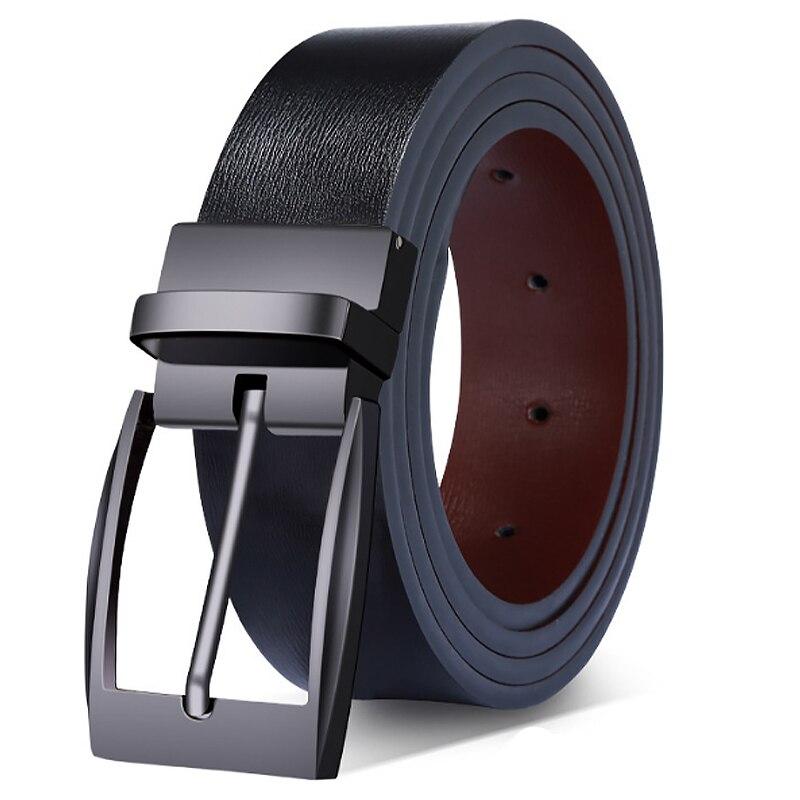 Belt Man Luxury Brand Men Belt Leather Genuine Mens Belts Casual Men's Belts Leather For Jeans High Quality Cinturón Hombre  001