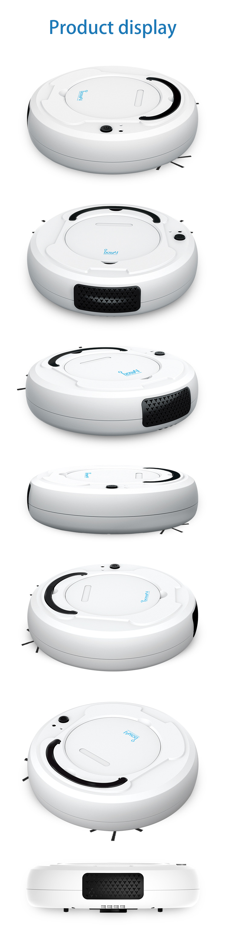 Hde2c9527449a42babeb1815200d5dd53Q LEARNHAI Christmas Gift OB8 Automatic Rechargeable Strong Suction Sweeping Smart Clean Robot Vacuum Cleaner For Home Office