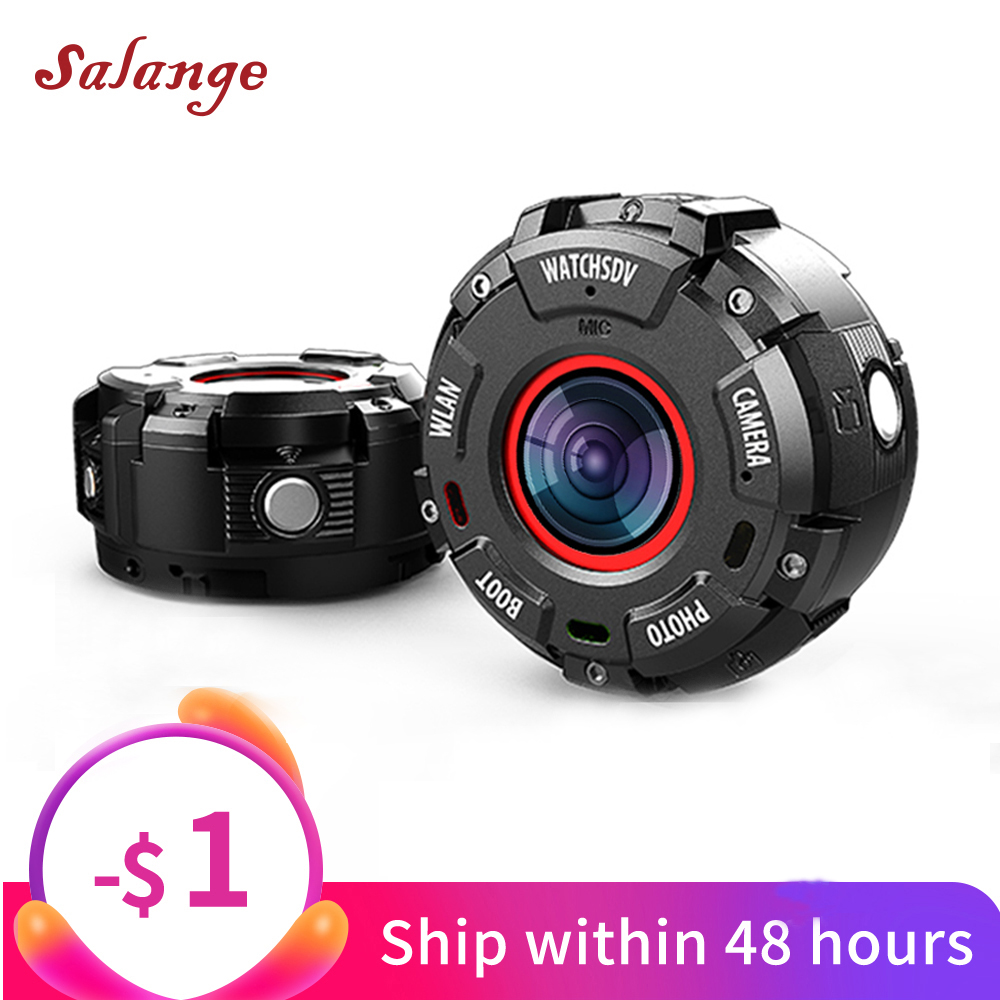 outdoor Smart Watch sports action camera IP68 Waterproof HD1080P WiFi Sport Action Camera Wide-angle Lenses Night Version Camera