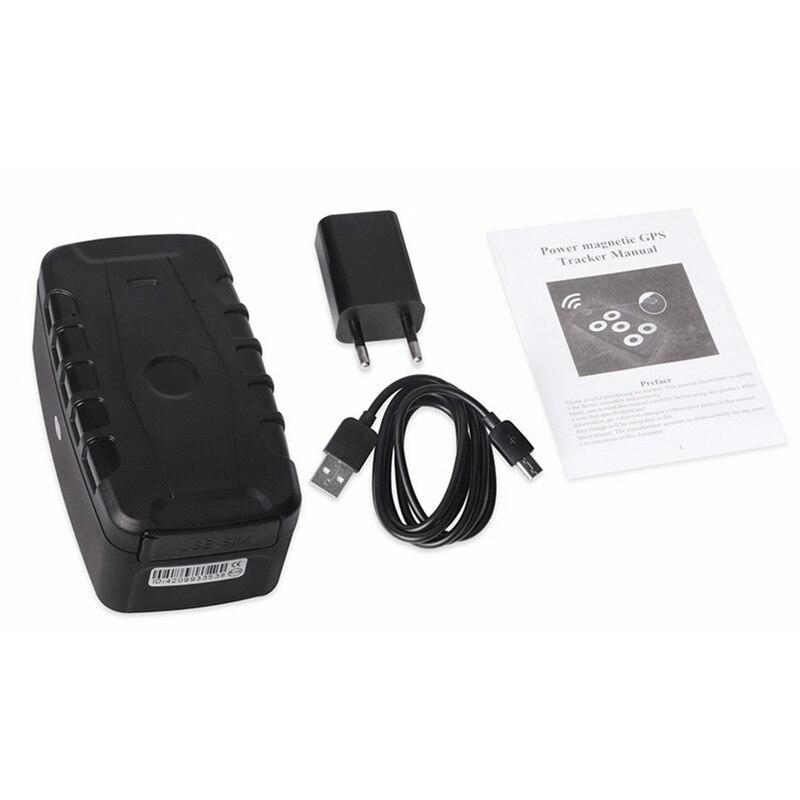 Gps Tracker Auto Lk209C 240 Giorni In Standby Impermeabile Inseguitore Del Veicolo Dei Gps Dispositivo di Tracciamento Locator Magneti Allarme di Scossa di Goccia 20000Mah - 6