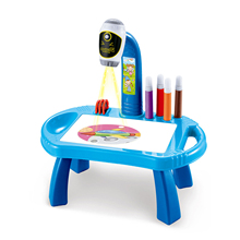 Toy-Board Projection Table-Toys Crafts Painting Desk-Arts Educational-Learning-Toy Drawing