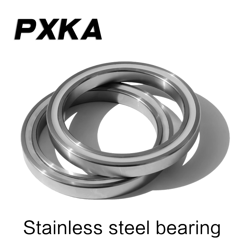 Free shipping 2pcs stainless steel rust and corrosion resistant non-magnetic miniature <font><b>bearing</b></font> S603 604 605 606 <font><b>607</b></font> 608 609Z <font><b>2RS</b></font> image