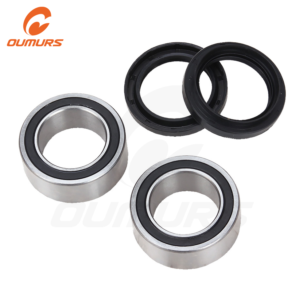 OUMURS Rear Wheel Axle Bearings and Seals Kit Set For <font><b>Yamaha</b></font> FZ450 YFZ450W 2012-2013 <font><b>YFZ450</b></font> 2006-2009 YFZ450V 2006-2007 image