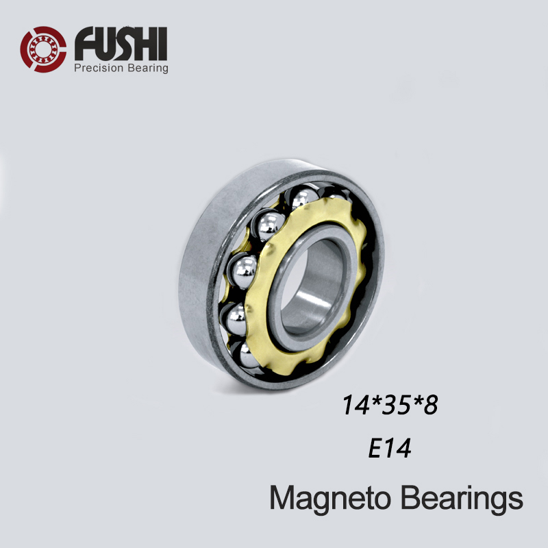 E14 Magneto Bearing 14*35*8 Mm ( 1 PC ) Angular Contact Separate Permanent Motor Ball Bearings EN14 FB14