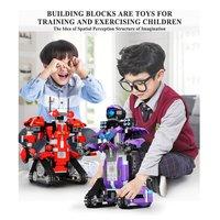 RC App Control Robot New Technic Motor Function Robot Set Building Blocks Bricks Assembly Boys Girls Kids Toys Christmas Gifts