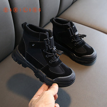 Boots Girls Ankle Baby-Boys Kids Fashion Casual Autumn BAMILONG Unisex Y224 New-Arrival