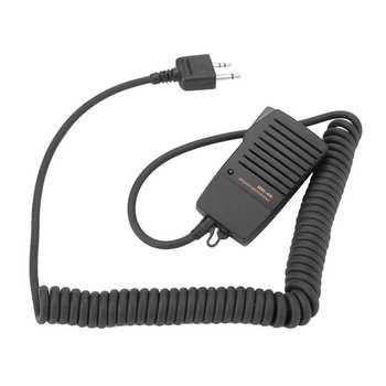 HM-46 ręczny głośnik mikrofon dla ICOM IC-V8 V82 V85 IC-T2H T8A 2AT E90 W32A radia tanie i dobre opinie CN (pochodzenie)