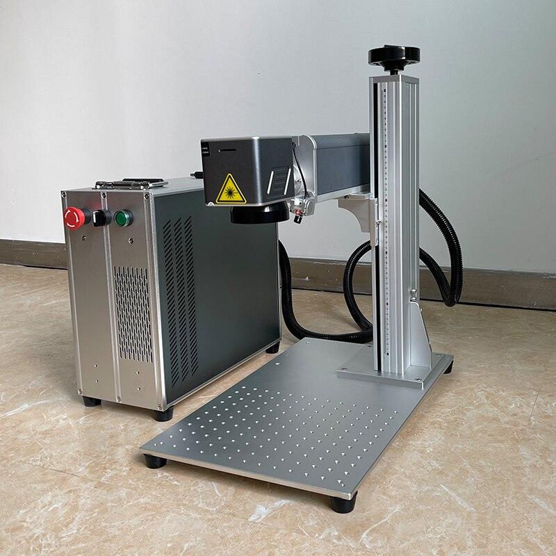 Machine de marquage Laser à fibres Raycus JPT Source Laser métal acier inoxydable 20W 30W 50W graveur Machine Graver outils de coupe