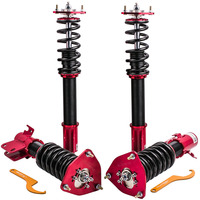 Adjustable Coilover for Subaru Impreza GDA GDB 02 07 Saab 9 2X 04 05 Coil Struts 24 Ways Coilovers Shock Absorber Damper Force