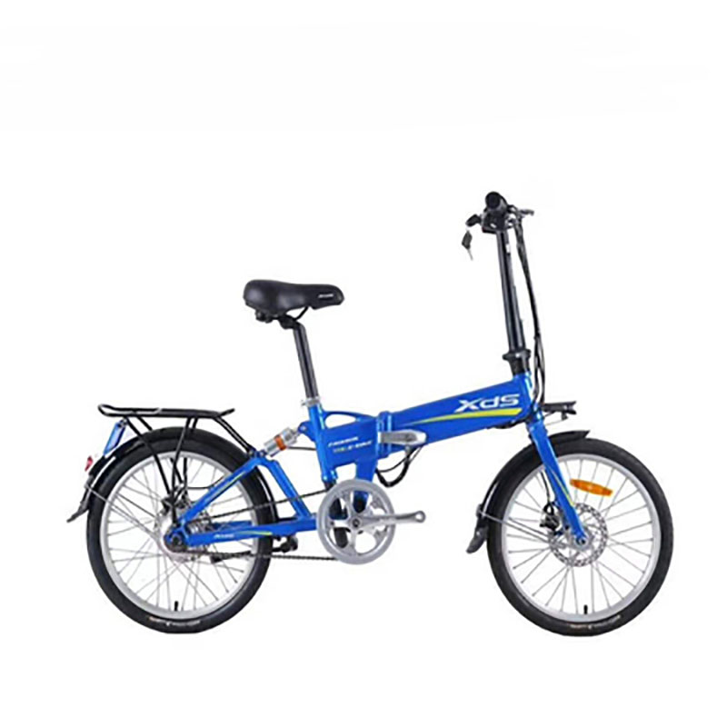 Lithium Battery Folding Double Disc Brake Shock Absorption 20 Inch Electric Bicycle