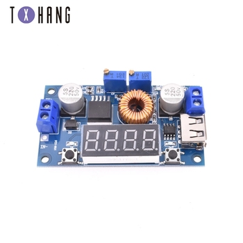 цена на Integrated Circuits DC-DC 5A LED Drive Lithium Battery Charger Module Voltmeter Ammeter LED Digit Display diy electronics