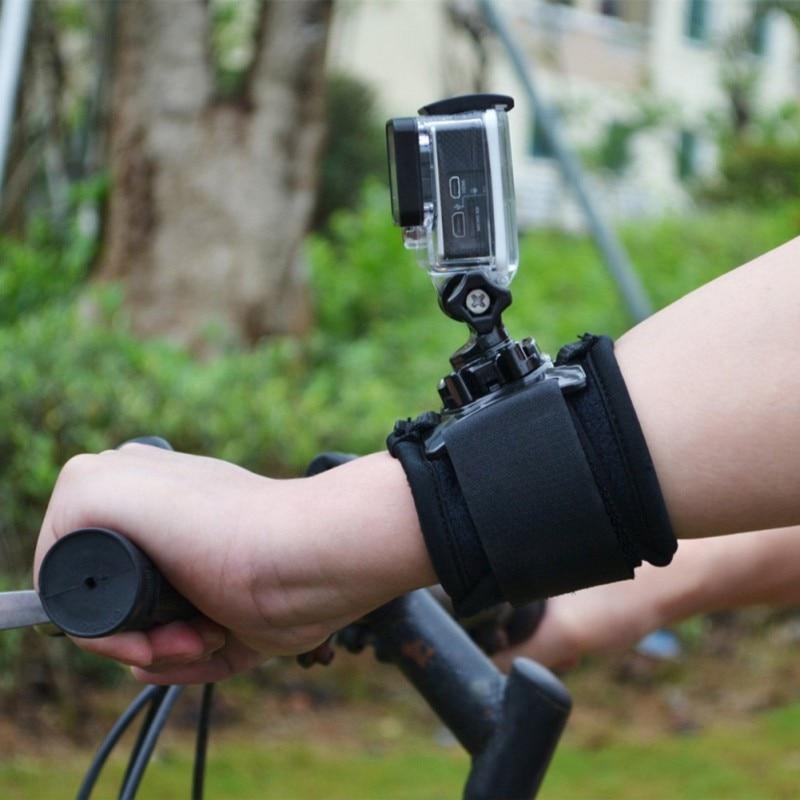 Pulseira de pulso 360 graus rotativo para