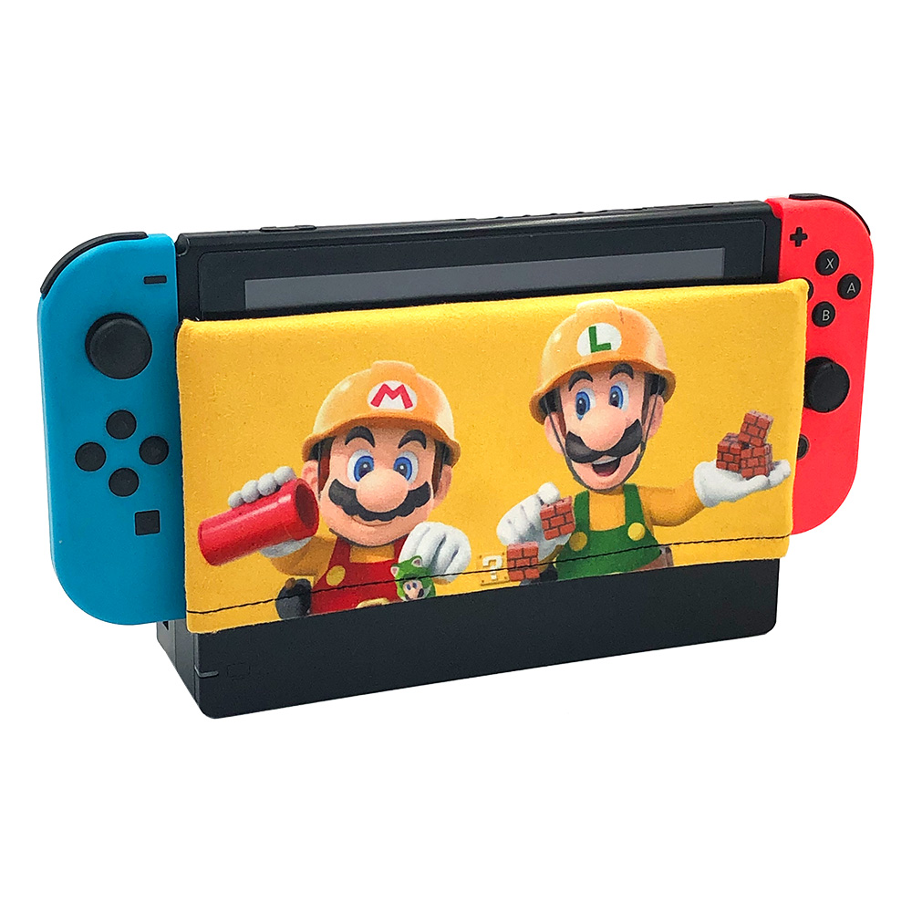 Nintend Switch Dock Cover Sleeve Dock Sock Decal Soft Suede Anti-scratch Protection Accessories for Nintendos Switch Dock