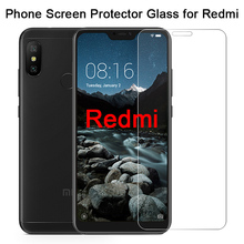 Toughed 9H HD Screen Protector for Xiaomi Redmi 7 K20 6 Pro 5 Plus Protective Glass on Redmi 7A 6A 5A 4A 4X Tempered Glass 2pc tempered glass for xiaomi redmi 6a 6 8 8a 4x 5 4a screen protector on redmi note 5 6 7 8 pro cristal protective glass xiomi