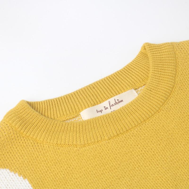 2019 Children Baby Girls Dot Sweater Boys Autumn Winter Girls Kids Girls Boys Sweater Clothes 1 -6 years 5