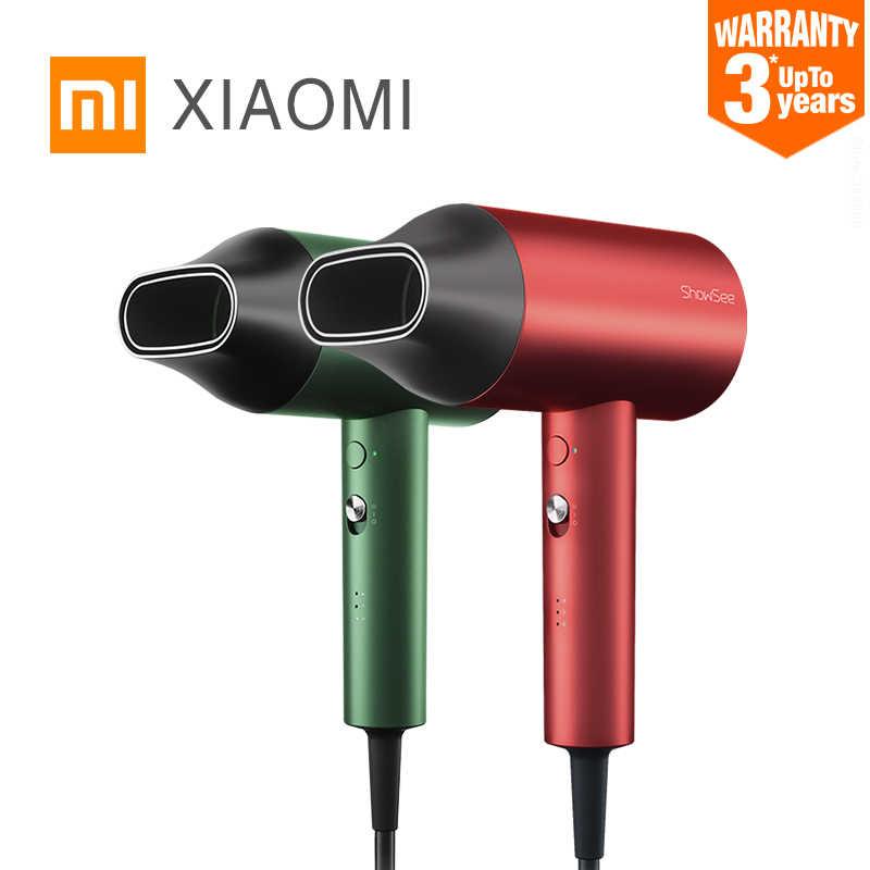 Xiaomi mijia showsee A5-Rグラム陰イオンヘアドライヤーマイナスイオンヘアケアプロフェッショナル向け速乾性ホーム 1800 ワットポータブルドライヤーディフューザー